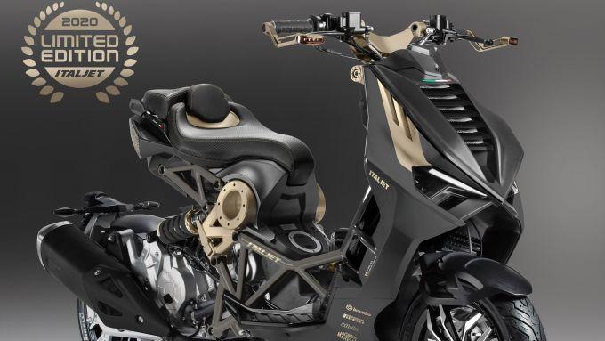 Italjet Dragster Limited Edition: la livrea Black Magnesium