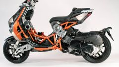 Italjet Dragster: visuale laterale