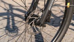 Italwin Trail Ultra: il freno a disco anteriore