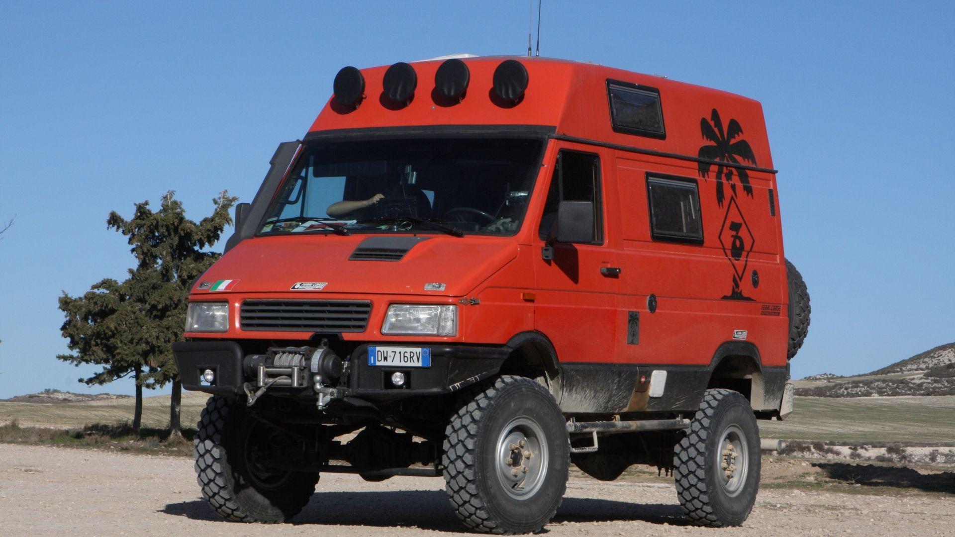 Trasformazioni Iveco Daily 4x4 Motorbox
