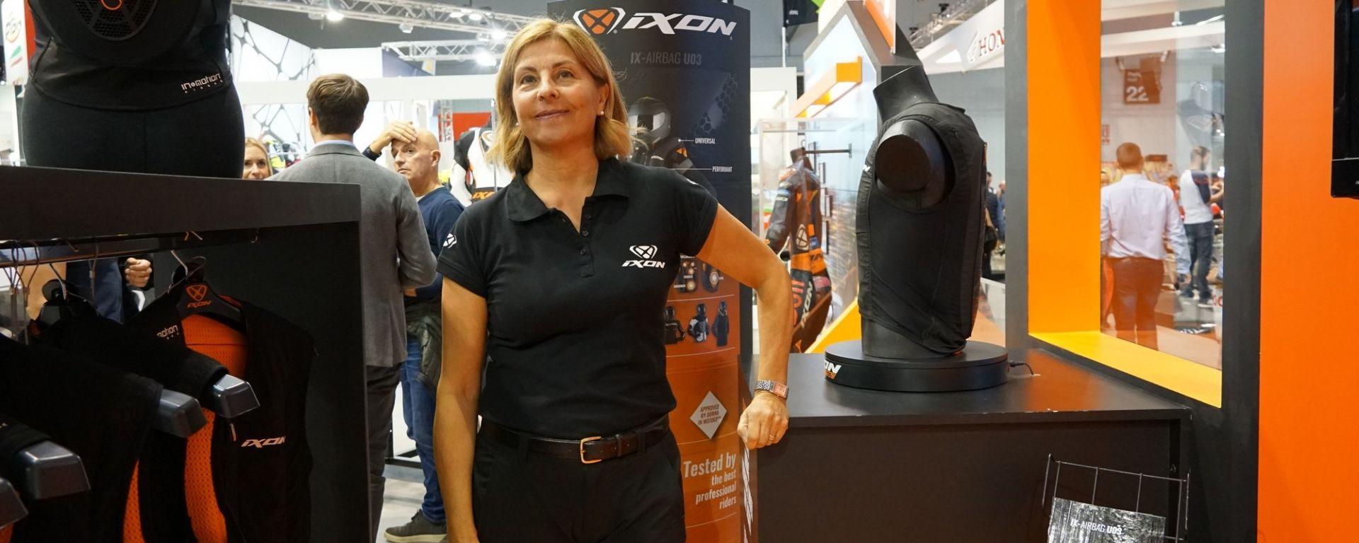 IX-Airbag U03: a Eicma l'airbag elettronico per la giacca moto