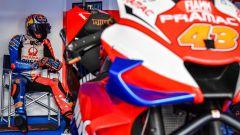 Jack Miller ai test di Sepang con il team Ducati Pramac