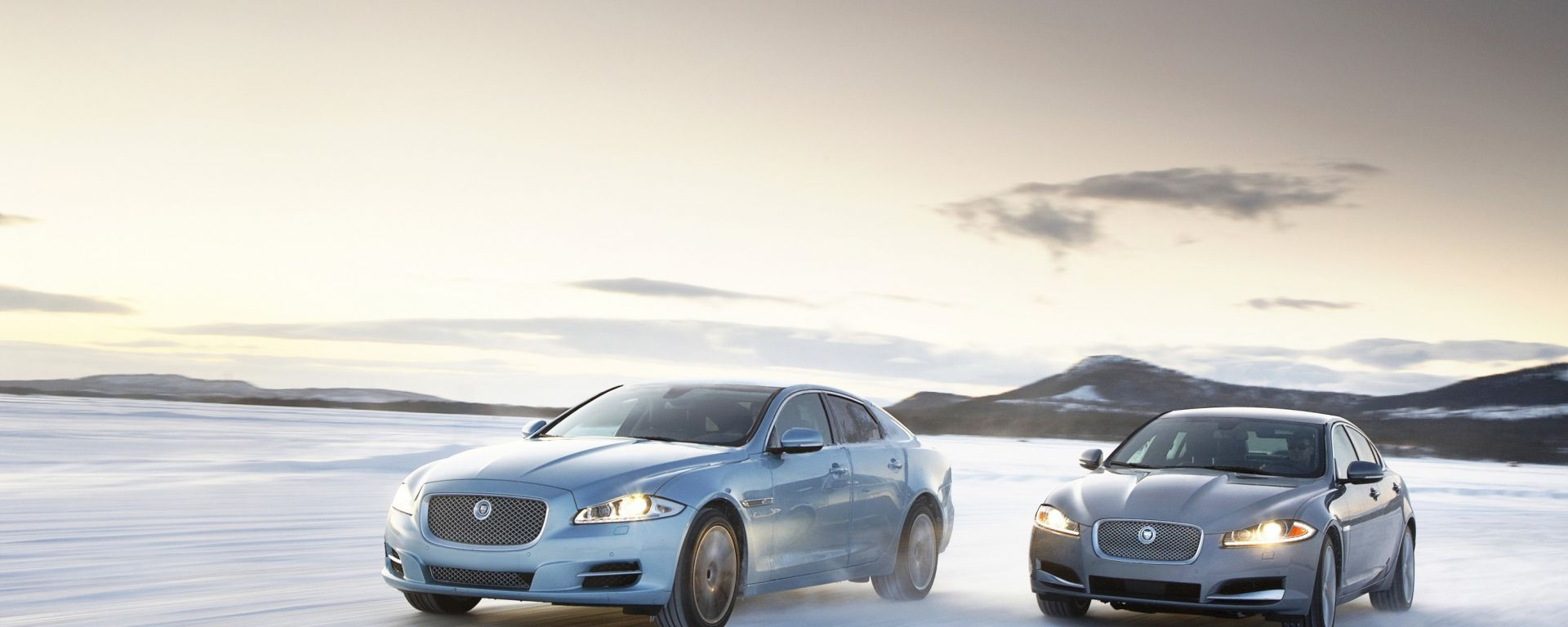 Jaguar XF e XJ All-Wheel Drive