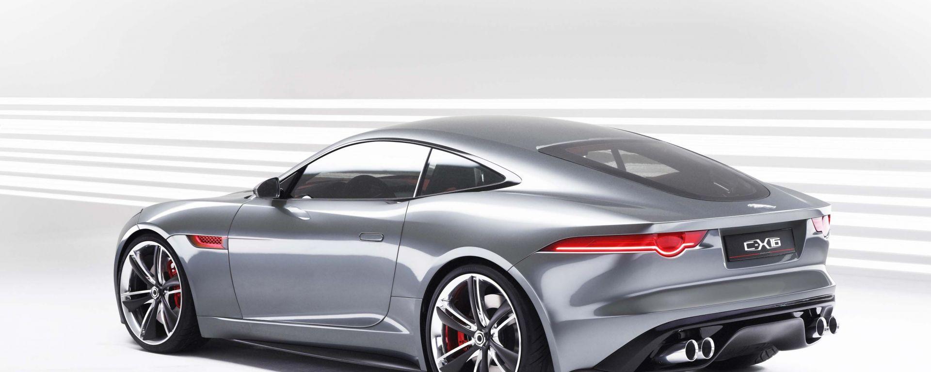 Jaguar C-X16 Concept: le foto ufficiali in HD