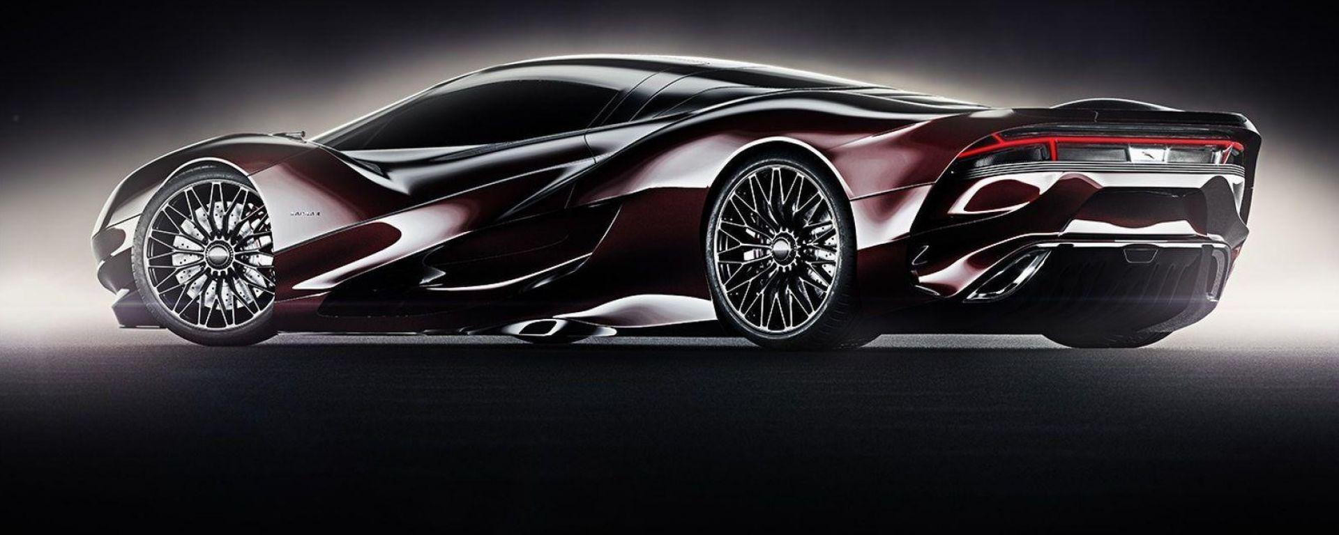 Jaguar XJ200: ecco come potrebbe essere la sua erede
