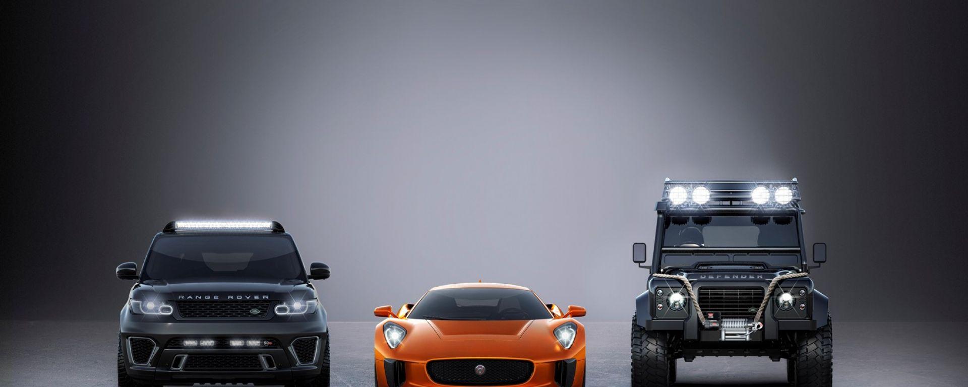 Bond guiderà Jaguar e Land Rover in Spectre