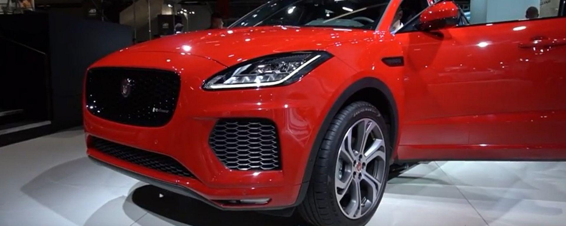 Jaguar E-Pace, tutto sul baby-suv del Giaguaro