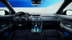 Jaguar E-Pace, gli interni