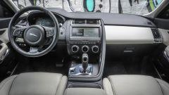 Jaguar E-Pace: gli interni
