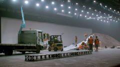 Jaguar E-Pace, il backstage