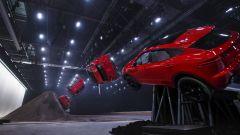 Jaguar E-Pace, la sequenza del salto