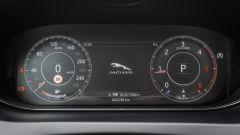 Jaguar E-Pace: la strumentazione digitale