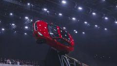 Jaguar E-Pace, un momento del salto