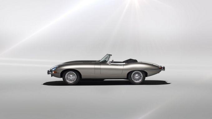 Jaguar E-Type: la versione elettrica, mai andata in produzione