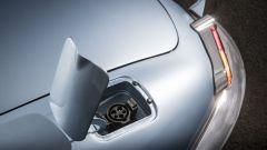 Jaguar E-type Zero: la presa di ricarica