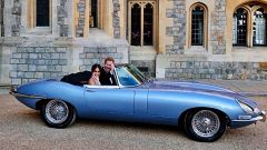 Jaguar E-type Zero: ecco l'auto di Harry e Meghan - Immagine: 1
