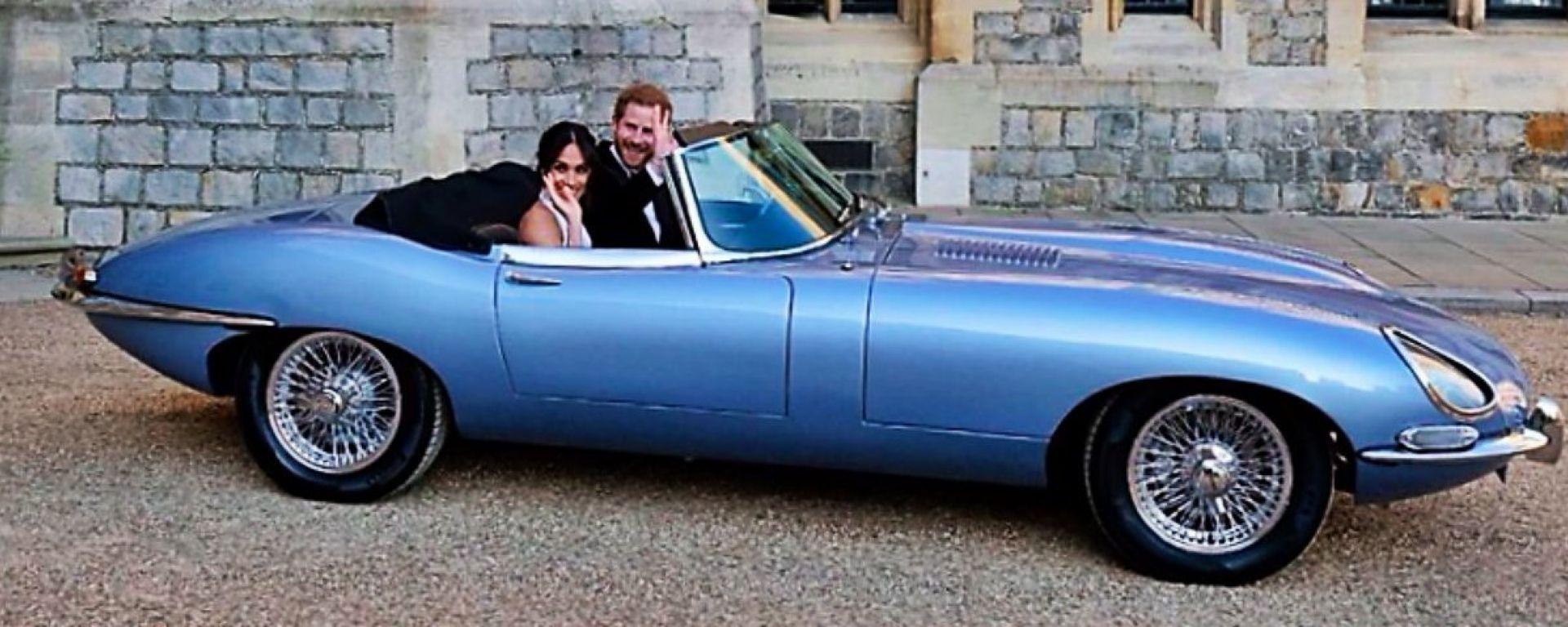 Jaguar E-type Zero: ecco l'auto di Harry e Meghan