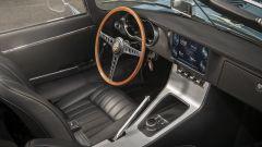 Jaguar E-type Zero: un comando rotante seleziona la marcia avanti, la folle o la retro