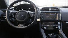 Jaguar F-Pace: interni sportivi ma non impeccabili