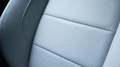 Jaguar F-Pace, la pelle che riveste i sedili è di grande qualità