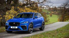 Jaguar F-Pace SVR 2021: 3/4 anteriore