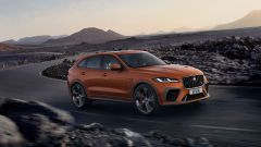 Jaguar F-Pace SVR 2021: 550 CV di potenza e 700 Nm di coppia
