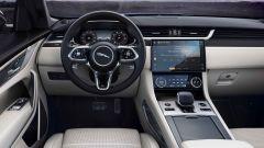 Jaguar F-Pace SVR 2021: interni, abitacolo anteriore