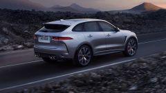 Jaguar F-Pace SVR: scatto da... leopardo - Immagine: 3