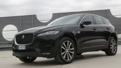 Jaguar F-Pace vs Mercedes GLC. Guarda il video - Immagine: 11