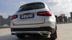 Jaguar F-Pace vs Mercedes GLC. Guarda il video - Immagine: 30