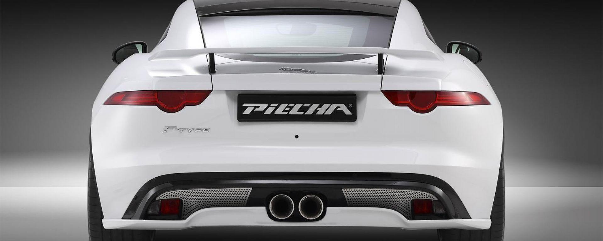 Jaguar F-Type Coupé Evolution by Piecha Design