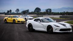 SRT Viper vs Porsche 911 Turbo vs Jaguar F-Type R - Immagine: 14