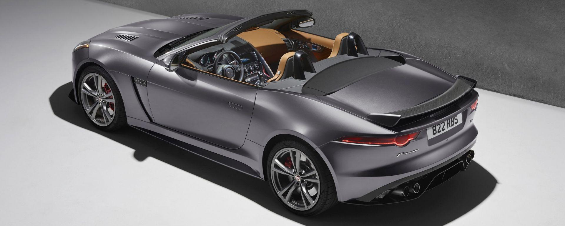 Jaguar F-Type SVR: foto e video ufficiali