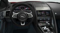 Jaguar F-Typer R-Dynamic Black: il posto di guida