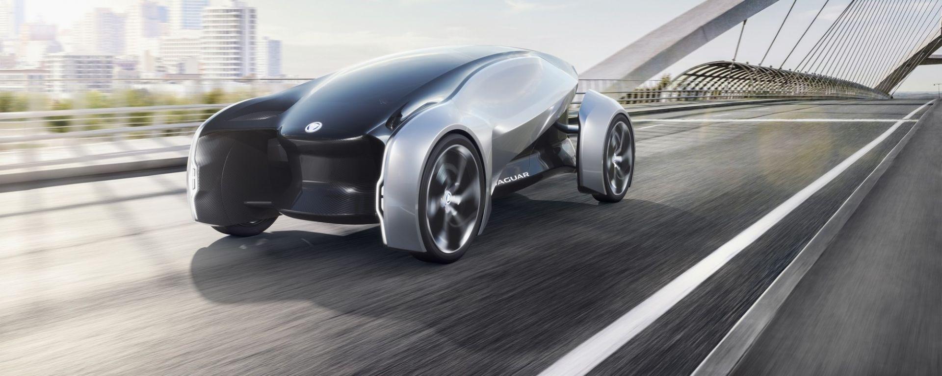 Jaguar Future-Type: l'auto elettrica che impiegherà Sayer