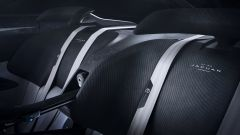 Jaguar GT SV: particolare dei nuovi sedili