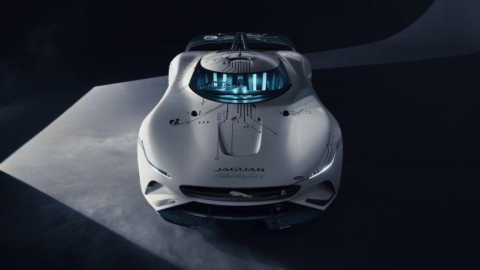 Jaguar GT SV: visuale frontale dall'alto