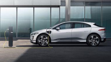 Jaguar I-Pace 2021, si accorciano i tempi di ricarica