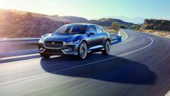 Jaguar i-Pace concept, ha due motori elettrici