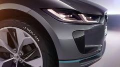 Jaguar i-Pace concept, ha gli sbalzi più corti della F-Pace