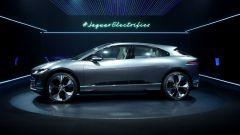Jaguar i-Pace concept, il passo è lungo 299 cm