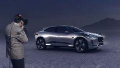 Jaguar i-Pace concept, la presentazione con i visori VR