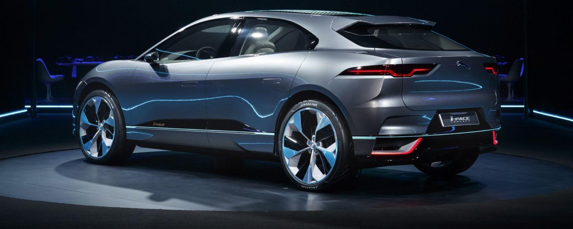 Jaguar i-Pace concept, le prime immagini e info