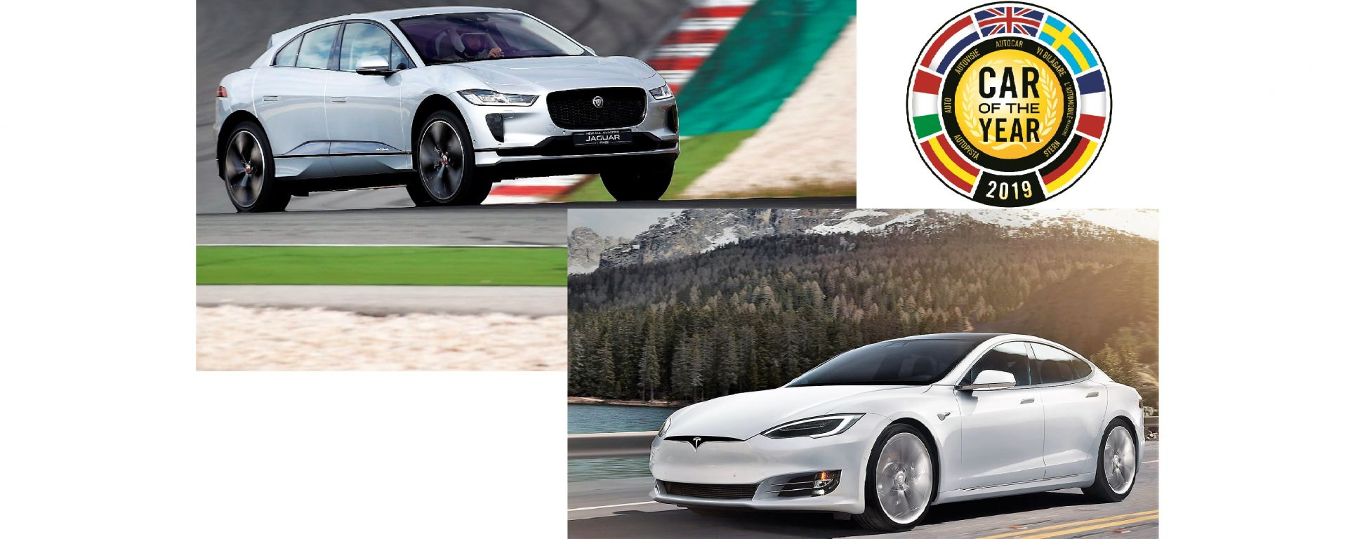 Jaguar I-Pace e Tesla Model S
