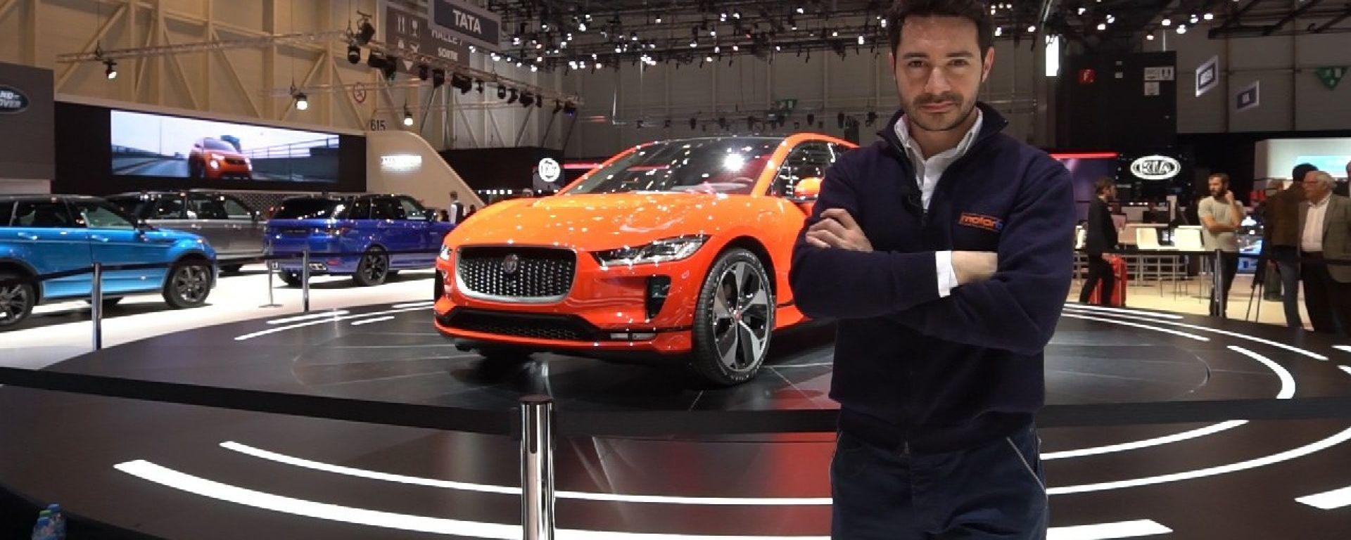 Jaguar I-Pace, Live dal Salone di Ginevra 2018