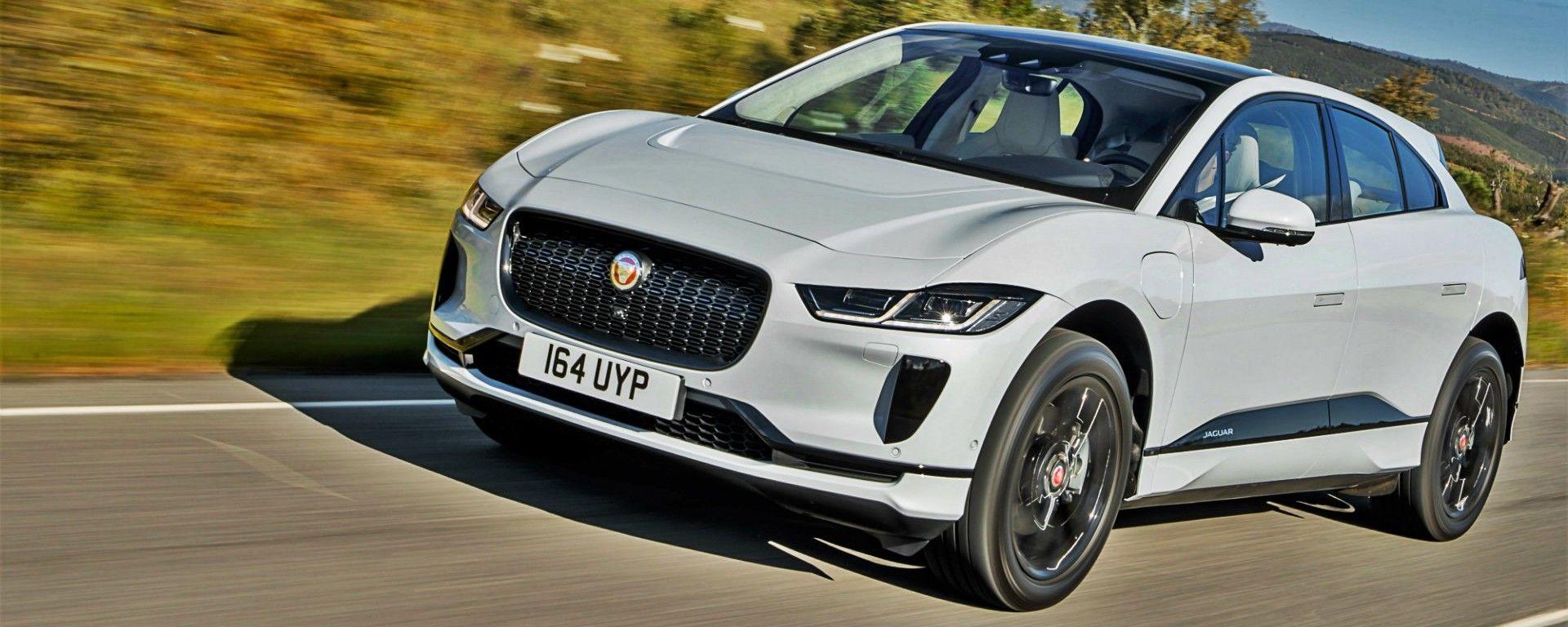Jaguar I-Pace: la prova su strada del nuovo SUV elettrico [VIDEO]
