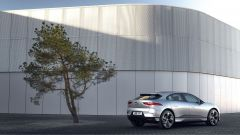 Jaguar I-Pace: visuale di 3/4 posteriore