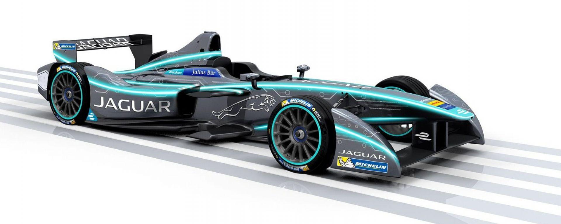 Jaguar torna alle corse con la Formula E