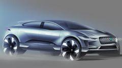 Jaguar J Pace: il SUV 100% elettrico che sfida Tesla Model X