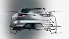Jaguar J Pace: un'ipotesi di soluzione per la coda del SUV